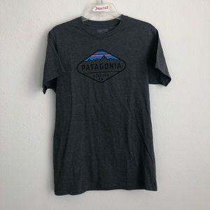 Patagonia California Short Sleeve Grey Tee T Shirt